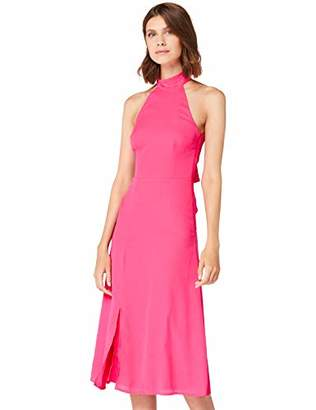 TRUTH & FABLE AZ-ACB03 Casual Dresses, (Pink), 6 (Size:XXS)