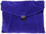 ASOS Suede Large Envelope Clutch Bag