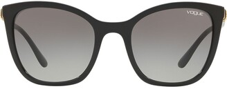 Vogue Eyewear Oversized Frame Sunglasses