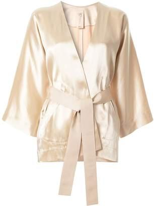 Zero Maria Cornejo belted kimono