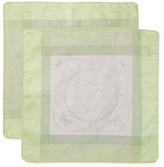Garnier Thiebaut Eugenie Almond Cotton Cushion Covers (Set of 2)
