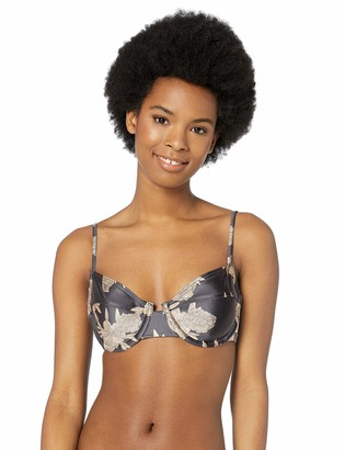 Roxy Women's Romantic Senses Underwire Swimsuit Bikini Top