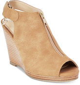 Thalia Sodi Telma Zip-Front Platform Wedge Sandals, Only at Macy's