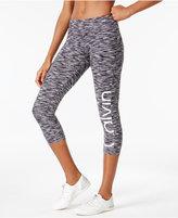 Calvin Klein Space-Dyed Logo Capri Leggings
