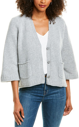 Revive Cashmere Chunky Cropped Wool & Cashmere-Blend Cardigan