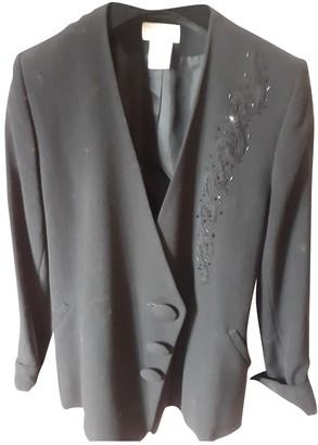 Emmanuelle Khanh Black Glitter Jacket for Women