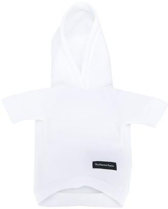 Heron Preston hooded pet jumper