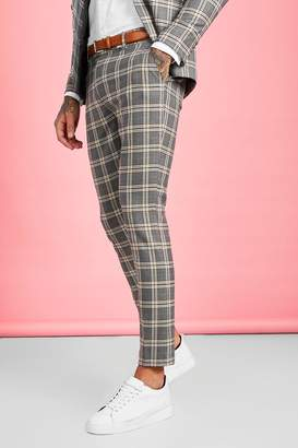 Heritage Check Skinny Fit Suit Trouser