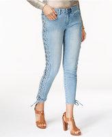 MICHAEL Michael Kors Lace-Up Skinny Jeans