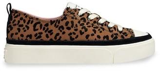 Kate Spade Kaia Leopard-Print Suede Platform Sneakers