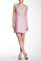 Julie Brown Isla Split Neck Sleeveless Dress