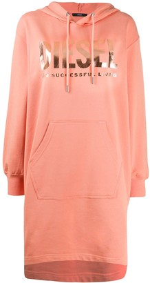 Diesel Hooded Sweatshirt Dress