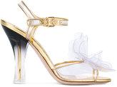 Miu Miu transparent gradient-effect sandals