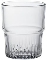 Duralex Empilable water glass 200ml, stackable, without filling mark, 6 Glasses