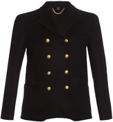 Burberry Double-breasted cashmere military jacket