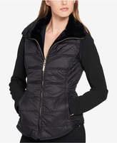 Tommy Hilfiger Reversible Faux-Fur Puffer Vest, Created for Macy's