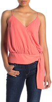 Lush Side Tie Button Front Camisole
