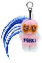 Fendi Fendirumi Micro Monster Charm, Pink/Multi