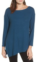 Gibson Women's Asymmetrical Cozy Fleece Top
