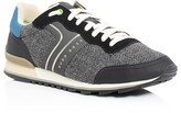 HUGO BOSS Green Parkour Runn Lace Up Sneakers