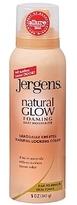 Jergens Natural Glow Foaming Daily Moisturizer, Fair to Medium Skin Tone