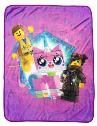 Lego The Movie 2 Kids Silky Soft Throw, 40 x 50, Kitty Mania, 1 Each