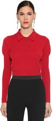 Dolce & Gabbana Cashmere Knit Polo Sweater