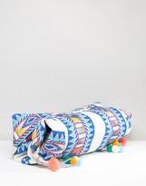 America & Beyond Multi-Color Jacquard Hobo Bag
