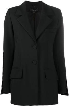 Ellery Wide-Sleeve Single-Breasted Blazer