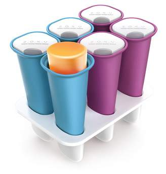 Zoku Slow Pop's Ice Collection Summer icy Pop Moulds Purple