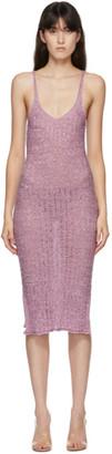 Gauntlett Cheng SSENSE Exclusive Pink Ribbon Dress