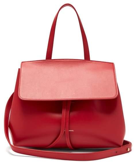 Mansur Gavriel Mini Lady Leather Cross Body Bag - Womens - Red