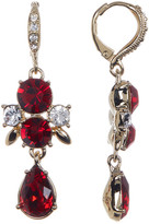 Givenchy Crystal Accented Drop Earrings
