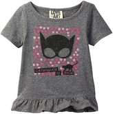 Junk Food Clothing CatWoman Is Back! Stencil Top (Toddler Girls)