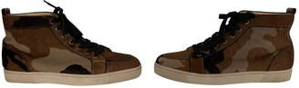 Christian Louboutin Brown Exotic leathers Trainers