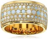 Fossil Vintage Glitz Crystal Ring, Size 7
