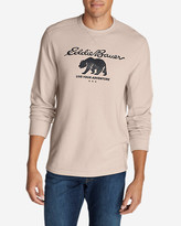 Eddie Bauer Men's Graphic Thermal Crew - Bear