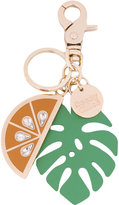 See by Chloe orange keychain