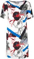 Paul & Joe graphic floral print dress - women - Silk/Polyester - 42