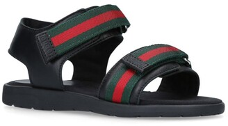 Gucci Kids Gaufrette Sandals