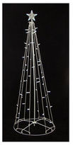 Asstd National Brand 9' Lighted Outdoor Christmas Cone Tree Yard Art with Clear Lights