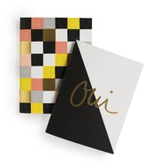 Rifle Paper Co. Oui Notebook with 32 blank pages - Set of 2