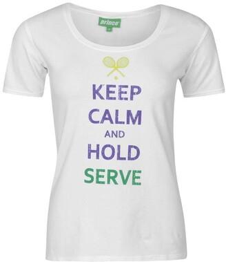 Prince Keep Calm T Shirt Ladies