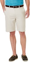 Haggar Men's Cool 18 Pro Classic-Fit Expandable-Waist Stretch Performance Shorts