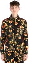 Nike Floral Printed Acetate Track Jacket