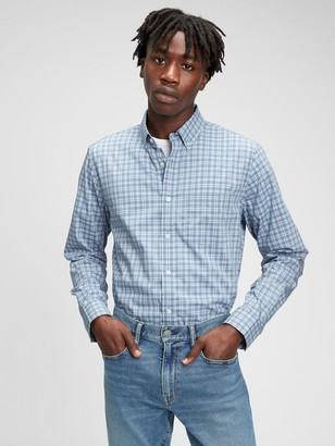Gap Performance Poplin Shirt in Untucked Fit