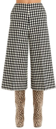 Gucci Houndstooth Culottes