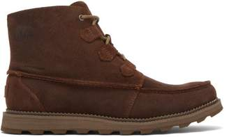 Sorel Madson Caribou Lace Up Suede Boots - Mens - Brown