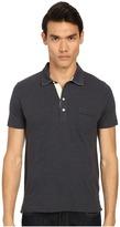 Billy Reid Short Sleeve Pensascola Polo Shirt