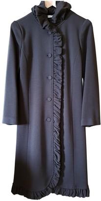 Emporio Armani Brown Wool Coat for Women